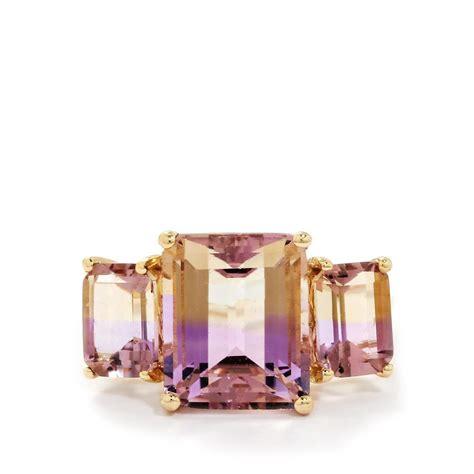 6 97ct anahi ametrine 9k gold ring smvj09 gemporia