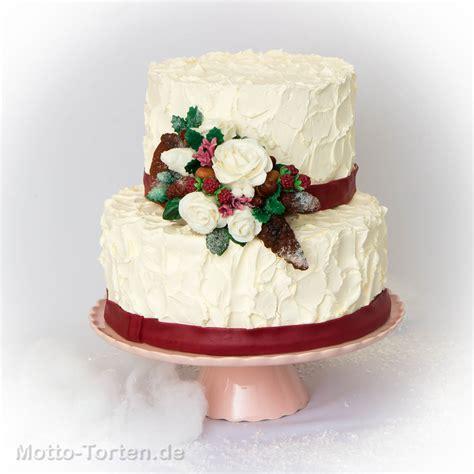 Hochzeitstorte Creme by Winterliche Hochzeitstorte Motto Torten De