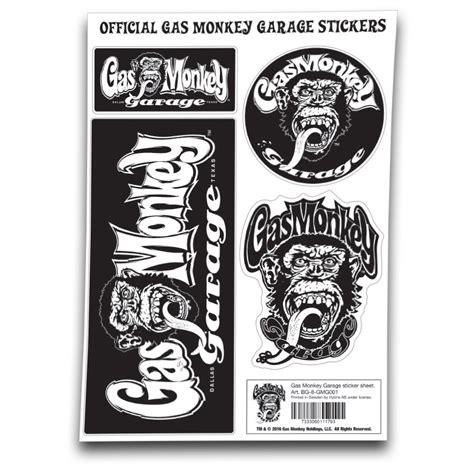 Gas Monkey Aufkleber by Gas Monkey Garage Sticker Kustom Kult De
