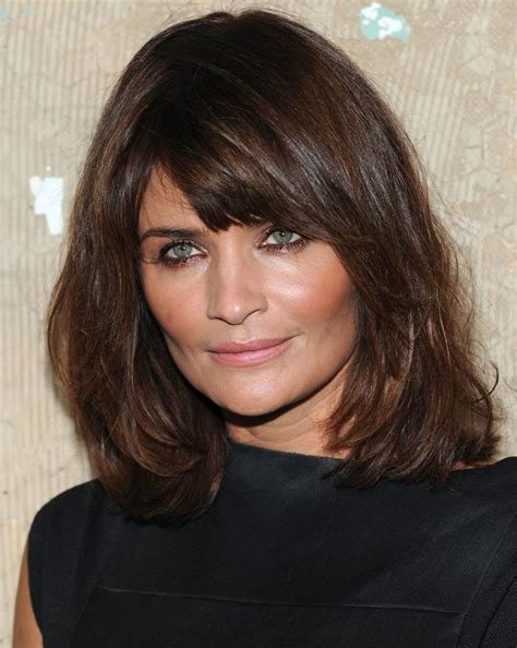 most flattering hair bang length 18 flattering hairstyles for the lady over 50 you