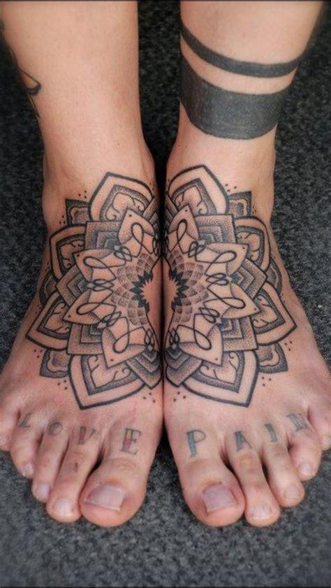 lotus tattoo on foot lotus mandala feet tops i like it i love it pinterest