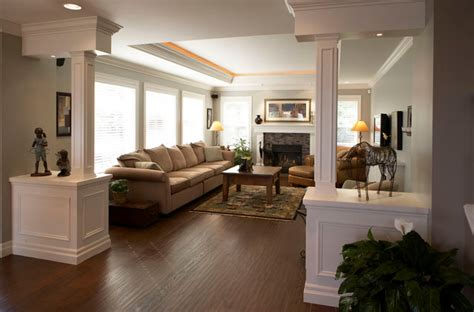 Living Room Pillars by Living Room Traditional Living Room Vancouver By