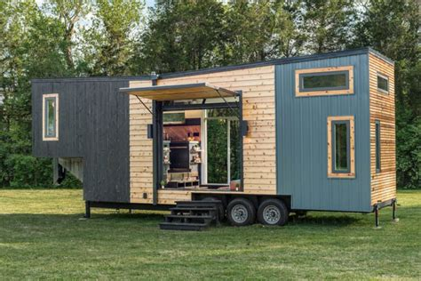 mobile tiny homes breathtakingly beautiful tiny home is surprisingly