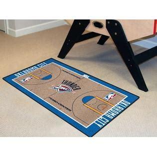 nba oklahoma city thunder rug basketball runner carpet fanmats nba oklahoma city thunder court runner home