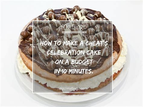 how to make a birthday cake for a how to make a s birthday cake in 10 mins for less than 163 10
