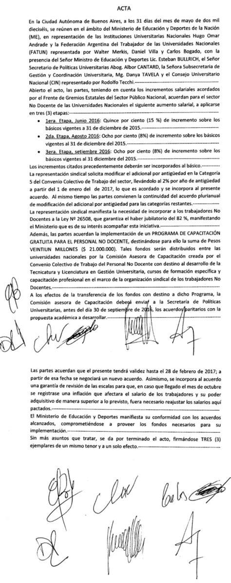 acta acuerdo salarial carne 2016 acta acuerdo 2016 a p u r