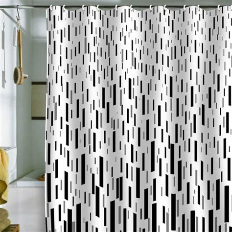 Gray And Black Shower Curtains 1000 Images About Black White Gray Shower Curtains On