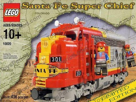 Lego City Eisenbahn Zubehör 600 by Lego 10020 2 Santa Fe Chief Limited Edition Set