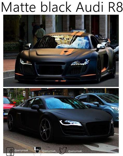 audi r8 matte black matte black audi r8 cars fotos pinterest matte