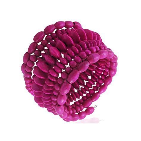 Spirale Di Legno by Braccialetto A Forma Di Spirale Di Legno Con Le Perline