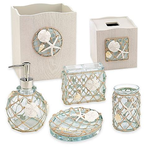 Sea Glass Bathroom Accessories Avanti Sea Glass Bath Ensemble Www Bedbathandbeyond