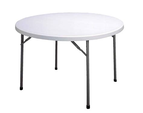 Round Folding Tables And Chairs