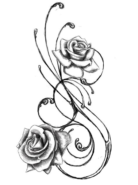 flower rose tattoo designs flower designs the is a canvas