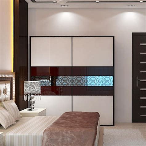 myllar wooden sliding wardrobe rs  square feet