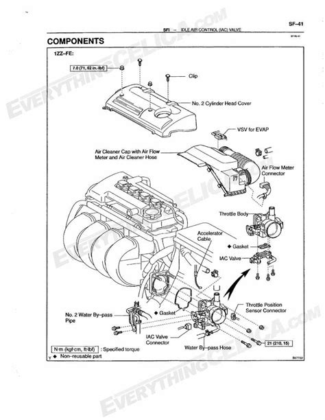 book repair manual 2002 toyota celica transmission control idle air control valve celica hobby