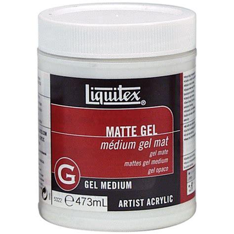 matte gel liquitex matte gel medium 16oz