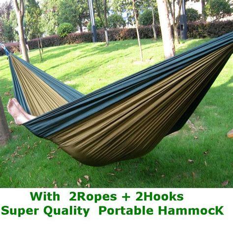 Best Outdoor Hammock Aliexpress Buy Outdoor Survival Cing Hammock