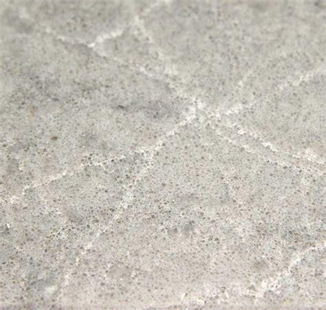 Gray Kitchen White Cabinets by Symphony Grey Quartz Caesarstone C5133 Granit Plus