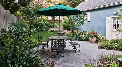 Small Backyard Patios the art of landscaping a small yard