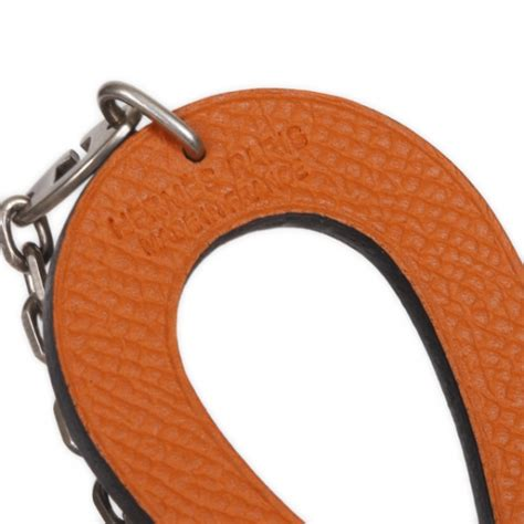 Hermes Lucky Key Ring by Hermes Leather Lucky Horseshoe Key Ring 21208