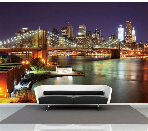 new york city skyline wallpaper for bedroom image gallery nyc wallpaper for bedroom