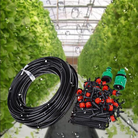 diy automatic micro drip irrigation system plant