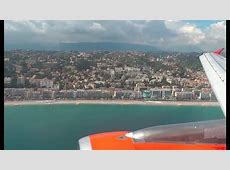 EasyJet Stunning Approach and Landing in Nice Côte d'Azur ... Easyjet