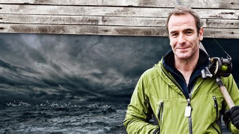 robson green fishing challenge fishing