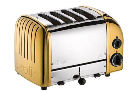 Dulit Toaster Dualit 24 Carat Gold Toaster Goes On Sale At Selfridges