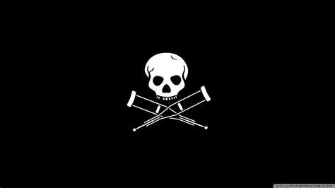 wallpaper hd black skull skeleton head logo black www imgkid com the image kid