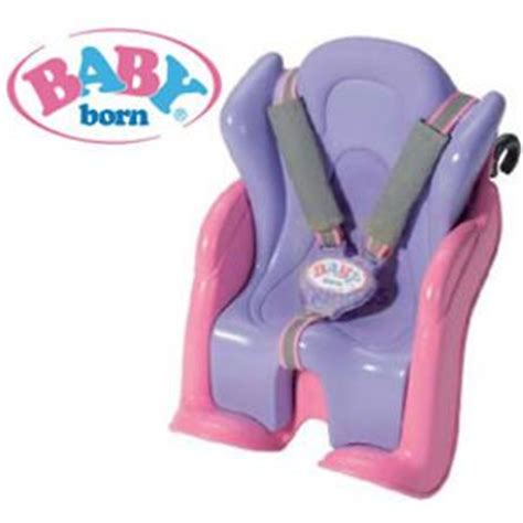 baby doll bike seat carrier baby born bike and car seat doll carrier for bike