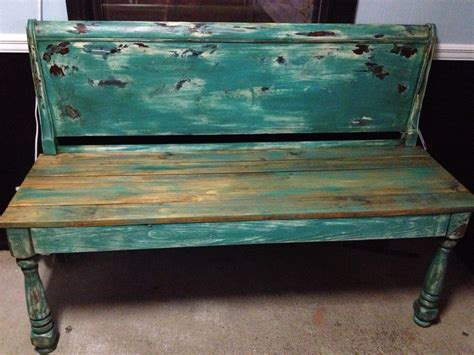 repurposed bench bench made using repurposed headboard things i love