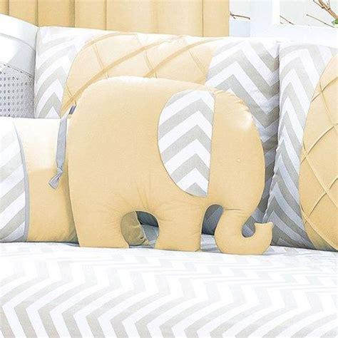 Eolins Jsps124 Chevron Bantal Sofa almofada beb 234 elefante chevron cinza amarelo biramar baby enxoval babyenxoval