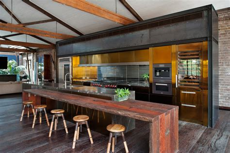 warehouse kitchen design australian firm transforms warehouse into an inspiring man