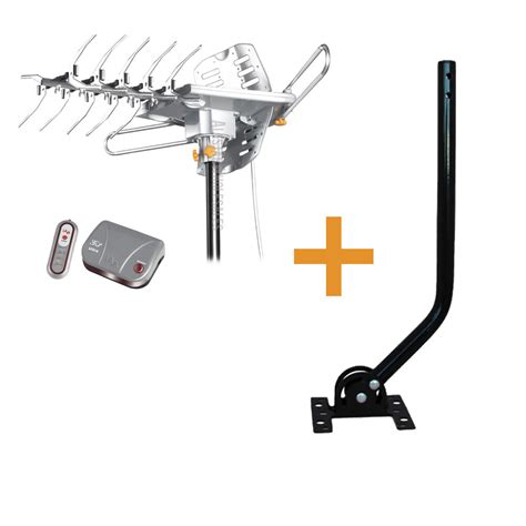 lava hd 2605 hdtv outdoor lified antenna universal j pole mount pole j 2012 ebay