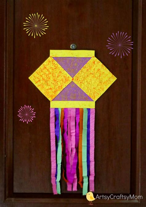 Handmade Diwali Kandil - 50 diwali ideas cards crafts decor diy for home