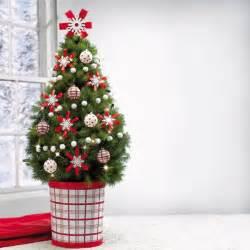 tannenbaum dekoration das haus weihnachtlich dekorieren kleinen christbaum auf