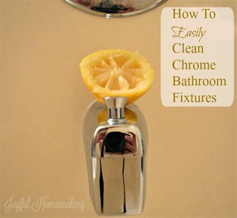 homemaking bathroom and bathroom fixtures on - How To Clean Chrome Fixtures In Bathroom