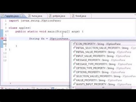tutorial java compiler java programming tutorial 50 graphical user interface