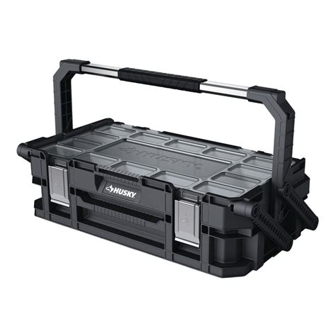 husky 22 compartment 22 in connect cantilever organizer