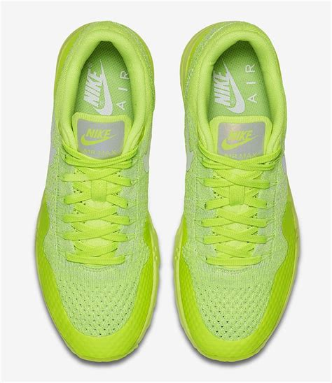 Sneakers Nike Air Max 1 Flyknit Volt sneakers s fashion nike wmns air max 1 ultra flyknit quot volt electric green quot eu kic
