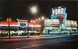 Used Car Lots Newark Nj Vintage Photo Of A 1950s Nj Ford Dealership