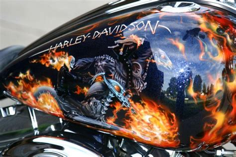 ghost pattern paint jobs let s see your ghoulish paint jobs harley davidson forums