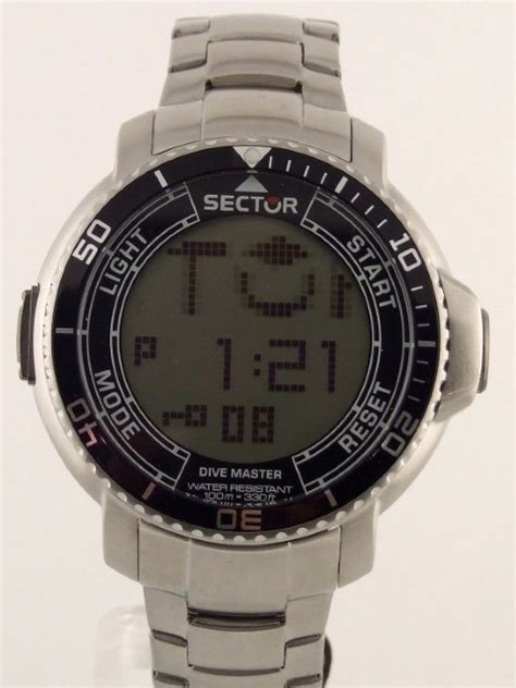 sector dive master sector dive master anadigit touch scroll compass alarm