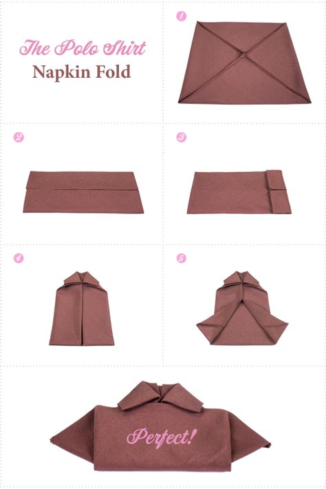 how to fold table napkins polo shirt napkin fold linentablecloth