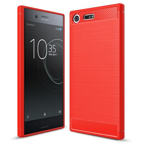 Sony Xperia Xz Premium Back Casing Design 075 flexi carbon fibre tough sony xperia xz premium