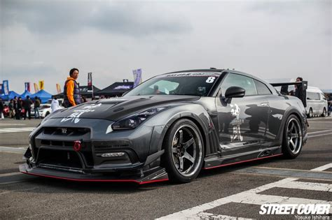 modified nissan skyline r35 hks varis kamikaze gtr cars skyline r35