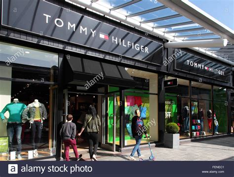 mcarthur glen bridgend postcode hilfiger store stock photos hilfiger store stock images alamy