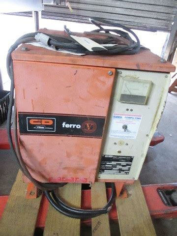 cd frcec  forklift battery charger  cell  ph ah