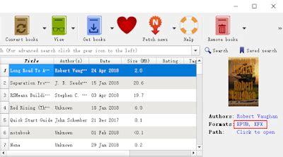 calibre ebook converter can now calibre can convert kindle kfx to pdf epub mobi now